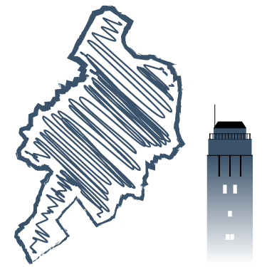 Umrisskarte Delmenhorst